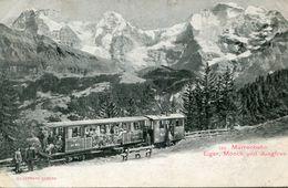 SUISSE(TRAIN) MURRENBAHN - Suisse