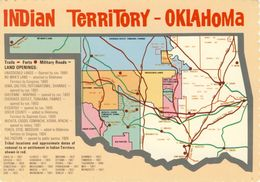 INDIAN TERRITORY - OKLAHOMA - Etats-Unis