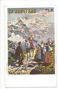18171 - La Jungfrau Affiche PLM Billets à Prix Réduits - Publicité