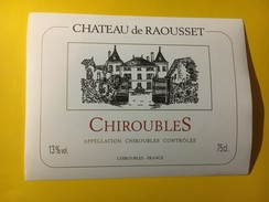 5192 -  Château De Raousset Chiroubles - Beaujolais