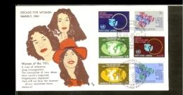1980 - VN/UNO New York FDC Mi. 342-343 + Geneva + Vienna - UN Decade For Woman [A65_39] - New York - Hoofdkwartier Van De VN