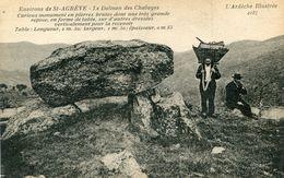 DOLMEN(SAINT AGREVE) - Dolmen & Menhirs