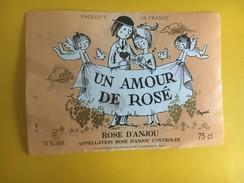5195 - Un Amour De Rosé Rosé D'Anjou Dessin De Peynet - Fumetti