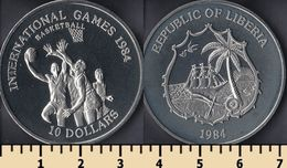 Liberia 10 Dollars 1984 - Liberia