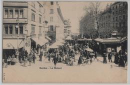 Geneve - Le Molard - Animee, Chocolat Du Leman, Eug. Weber, Marche - GE Genève