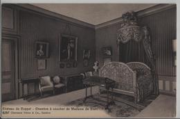 Chateau De Coppet - Chambre A Coucher De Madame De Stael - Photo: Charnaux Freres No. 6297 - VD Vaud