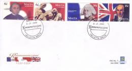 Malta 1999 - FDC Rivolta,  In Coppie. Annullo Speciale - Malta