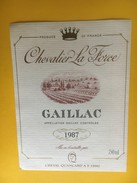 5204 - Chevalier La Force 1987 - Gaillac