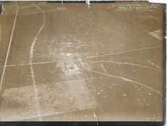 RARE PHOTO MILITAIRE 1914-1918 Escadrille SPA 42  500 M AU DESSUS DE LA FERME DE BELLE ASSISE MONTDIDIER   28-5-18 - Guerre 1914-18