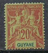GUYANE N°36 N**  Founier - Guyane Française (1886-1949)