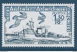 TAAF 1979 - YT N°80 - 1f. 50 - Navires - Avisos - Commandant Bourdais - NEUF** TTB Etat - Neufs