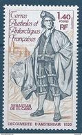TAAF 1979 - YT N°84 - 1f. 40 - Sebastian De El Cano - NEUF** TTB Etat - Neufs