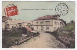 Jura - Longchaumois - Mairie Et Ecole - France