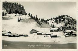 Suisse - Swiss - Vaud - Bretaye - Paysage D'hiver - Bon état - VD Vaud