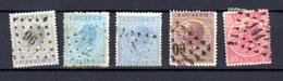 1865-66    Léopold 1er, 17 / 20 Ob, Cote 47 € - 1865-1866 Profil Gauche