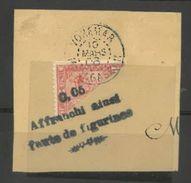 RAREMENT PROPOSE - 93 Sur Fragment ... 0.05 Affranchi Ainsi Faute De Figurines - Càd 10-03-06 De Vohémar - Gebraucht