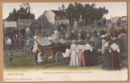 South Africa  Protest Meeting Against Repatriation Of  Chinese  1906   Sa566 - Afrique Du Sud