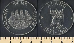 Finland 100 Markkaa 1991 - Finlandia