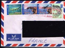 AUSTRALIE / Lettre De 2012 à Destination De La France / Sujets Divers - 2010-... Elizabeth II
