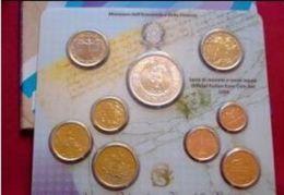 NUMISMATICA- DIVISIONALE ANNO 2006 - FDC - 9 VALORI - 5€ ARGENTO 60° ANNIVERSARIO REPUBBLICA ITALIANA - Italien
