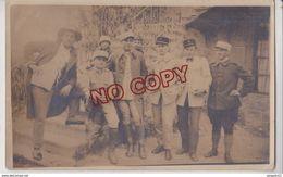 Au Plus Rapide Carte Photo Militaire France Armée Française Occupation Liban Baabda 17 Mars 1927 Armée Levant - Libanon