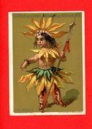 A La Ville St Denis, Jolie Chromo Lith. Clarey & Gibert, Indien, Le Soleil - Other