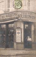 Liège - Café Maestricht De La Brasserie, Tenu Par Hubinon (des Augustins, Carte Photo, Dame Au Perroquet, 1909) - Luik