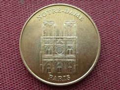 FRANCE RARE Monnaie De Paris Notre Dame 1998 Frappe Décalée RARE !!!!! Jamais Vu En Vente - Monnaie De Paris