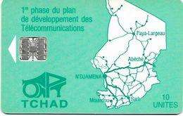 @+ Tchad - ONPT 10U - Green Map Of Tchad SC7 - Chad