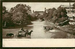 Etats-Unis - Texas - San Antonio - Texas Around 1908 , Showing Country Courthouse ( Courtesy Of Ray Don White ) - état - San Antonio