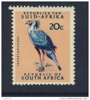 AFRIQUE DU SUD 1967/71 OISEAUX  YVERT N°289A NEUF MNH** - Afrique Du Sud (1961-...)