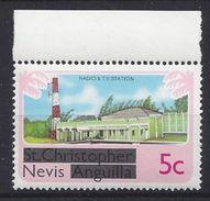 Nevis  1980 Overprints 5c (**) MNH - St.Kitts And Nevis ( 1983-...)