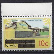 Nevis  1980 Overprints 10c (**) MNH - St.Kitts And Nevis ( 1983-...)