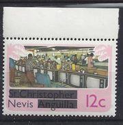 Nevis  1980 Overprints 12c (**) MNH - St.Kitts And Nevis ( 1983-...)