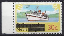 Nevis  1980 Overprints 30c (**) MNH - St.Kitts And Nevis ( 1983-...)