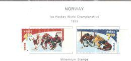 Norvegia PO 1999 Hockey Ghiaccio Scott.1222+1223+ See Scan - Nuovi