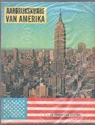 Plakboek Aardrijkskunde  Amerika  2 Delen (1 En 2)    Lombarduitgave Kuifje Tintin  1961 En 1963) Prentjes Volledig - Geography