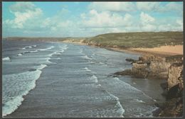 Rollers At Perranporth, Cornwall, 1979 - Photo Precision Postcard - England