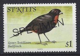 St.Kitts  1981  Specimen $1 (**) MNH - St.Kitts And Nevis ( 1983-...)