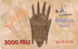 *BURUNDI* - Scheda Usata - Burundi