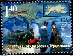 Bosnia & Herzegovina - Republika Srpska - 2008 - 125 Years Of Orient Express - Mint Stamp - Bosnië En Herzegovina