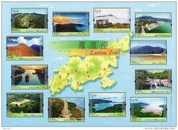 Hong Kong - 2016 - Hong Kong Hiking Trails, Series 1 - Lantau Trail - Mint Souvenir Sheet - 1997-... Sonderverwaltungszone Der China