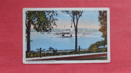 Steamer City Of Toledo  Port Huron Michigan   -ref 2728 - Paquebots