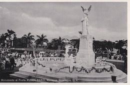 Post Card :  Managua   (Nicaragua)  Monumento Al Poeta Ruben Dario       By ??? - Nicaragua