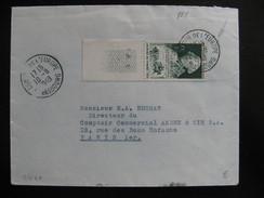 S/L 40 - TB Enveloppe Affranchie Avec N° 828 ;  Du Conseil De L'Europe Pour Paris ( 10/ 08 /1949 ) - Postmark Collection (Covers)