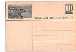 15549 HELVETIA POSTCARD   VITZNAU - Interi Postali