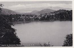 Post Card :  Managua   (Nicaragua) Laguna De Asososca       By ??? - Nicaragua