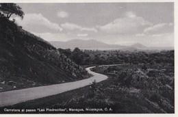 Post Card :  Managua   (Nicaragua) Carretera Al Paseo Las Piedrecitas - Nicaragua