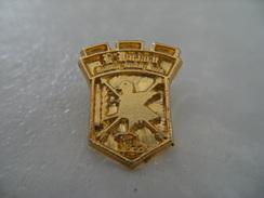 Pin's Tir à L'arc Archer Compagnie D'Arc D'AULNAY SOUS BOIS Archerie Cible Fléche BOUQUET - Tiro Con L'Arco