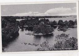 Post Card :  Managua   (Nicaragua) Bellas Isletas En El Gran Lago De Nicaragua - Nicaragua
